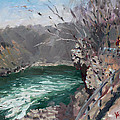 Niagara Falls Gorge by Ylli Haruni