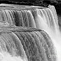 Niagara Falls In Black And White by Rose Santuci-Sofranko