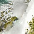Niagara Falls On The Rocks by LeeAnn McLaneGoetz McLaneGoetzStudioLLCcom