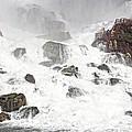 Niagara Falls Overlook Two by Alice Gipson