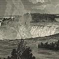 Niagara Falls by Antique Engravings