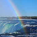 Niagara Falls Rainbow by Charline Xia