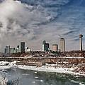 Niagara Falls The City 4534 by Guy Whiteley