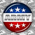 Nice Army Shield 2 by Pamela Johnson