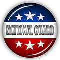 Nice National Guard Shield by Pamela Johnson