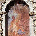 Niche Fresco In Real Alcazar Of Seville by Artur Bogacki