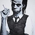 Nick Cave by Bridget Brummel