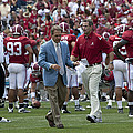 Nick Saban And The Tide by Mountain Dreams