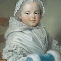 Nicole Ricard Pastel by Maurice Quentin de la Tour
