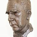 Niels Bohr Sculpture by Adam Hart-davis