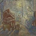 Night After Millet by Vincent Van Gogh