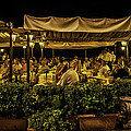 Night At The Cafe - Taormina - Italy by Madeline Ellis
