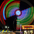 Night At The Fair by Dawna Moore Photography