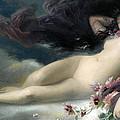 Night by Auguste-Alexandre Hirsch