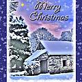 Christmas Card 28 by Nina Ficur Feenan