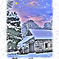 Christmas Card 27 by Nina Ficur Feenan