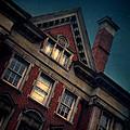 Night Building by Jill Battaglia