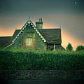 Night Cottage by Jill Battaglia