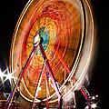 Night Ferris Wheel 3 by John Brueske