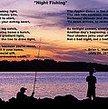 Night Fishing - Poem by Brian Wallace