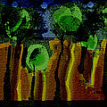 Night Forest Tapestry by Lenore Senior