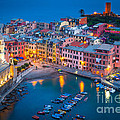Night In Vernazza by Inge Johnsson