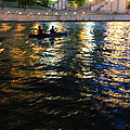 Night Kayak Ride by Margie Hurwich