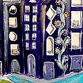 Night Kittyscape by Lou Belcher
