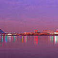Night Memphis Tn by Panoramic Images