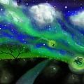 Night Of The Fireflies by Gary Bolinky