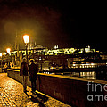 Night On The Charles Bridge by Madeline Ellis