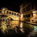 Night On The Grand Canal by Diana Weir