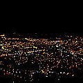 Night Panorama Of Cuenca Ecuador by Al Bourassa
