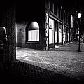 Night People Main Street by Bob Orsillo