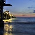 Night Pier by Matthew Fernandez
