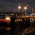 Night Pier by Richard Gibb