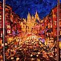 Night Prague by Vladimir Domnicev