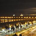 Night Time Huntington Beach by Clayton Bruster