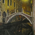 Night Time In Venice by Suzanne Oesterling