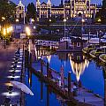Night Time On Parliament Hill by Irene  Theriau