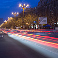 Night Traffic by Ciprian Gorongia