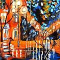Night Village Rain by Jayne Kerr