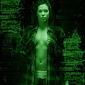 Night Vision Woman by Kendree Miller