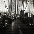 Nightfall On The Brooklyn Bridge by RicardMN Photography