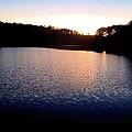Nightfall On The Lake by James Potts