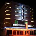 Nightime Shot Of Kilgore Crim Theater by Kathy  White