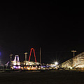 Nighttime In Wildwood New Jersey by Bill Cannon