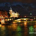 Nighttime Paris by Elena Elisseeva