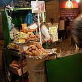 Nighttime Vendor by Lorraine Devon Wilke