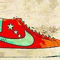 Nike Blazer Orange by Alfie Borg